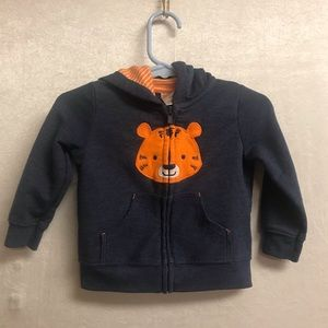 Baby Boys Carter Hoodie Size 9 Months